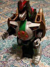 """Power Rangers""Mighty Morphin Green Ranger-16""DRAGONZORD: Mattel- Working! VGC"