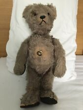 Vintage Mohair Musical Bear, Moveable Head (all working Order) Possibly Steiff?