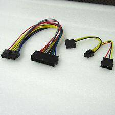 ATX 24Pin to 18P + 4p to 6p Power Cable Cord for HP Z600 Workstation Motherboard