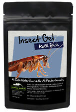 Reptile World Insect Gel 500ml Refill Pack - Live Food Care, Bug Gel