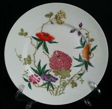 Superbe ASSIETTE porcelaine RAYNAUD LIMOGES décor FLEURS d=25,7cm