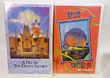 Walt Disney World Attractions A Day At Epcot Center & A Day At The Studios - VHS