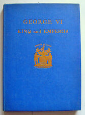 GEORGE VI 1937 1st ed Major J T Gorman illustrated Borough Ilford Schools HB VGC