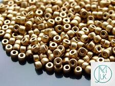 10g MATUBO 6/0 Best Quality Czech Seed Beads Bronze Pale Gold
