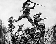 "Members of the Black Watch Scottish Regiment 8""x 10"" World War II Photo 416"