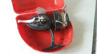 VINTAGE METAL FISHING REEL - K.P MORRITTS - INTREPID REGENT