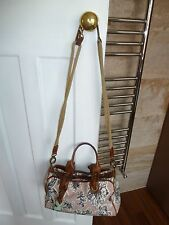 Marni Canvas and Leather Handbag