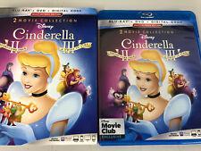 Cinderella II & III DMC Exclusive (Blu-ray + DVD) w/Slipcover