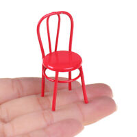 Simulation Mini Stool Chair Furniture Model Toys for Doll House Decoration 1 kl