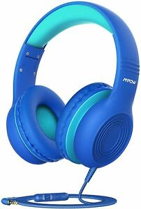 Mpow CH6S Kid 3.5mm Wired Headphones Children Over-Ear Headset Foldable Earphone