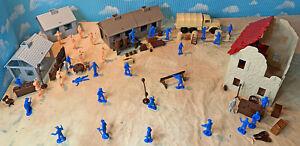 Marx recast Untouchables Playset - 54mm-60mm Plastic Toy Soldiers