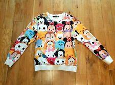 Baby Disney Characters Sweatshirt M Cartoon Anime Cute Colorful Bright Unusual