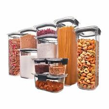 Rubbermaid Brilliance Pantry Airtight Food Storage Containers 20 Piece Set NEW