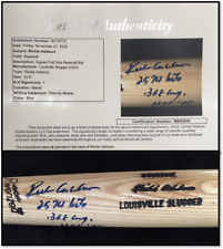 Richie Ashburn STAT Autographed Player Model Bat, JSA LOA