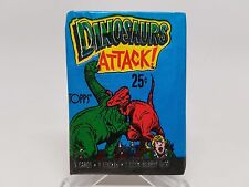 Dinosaurs Attack Trading Cards Sealed Wax Pack