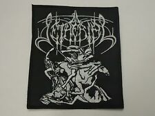 SETHERIAL BLACK METAL EMBROIDERED PATCH