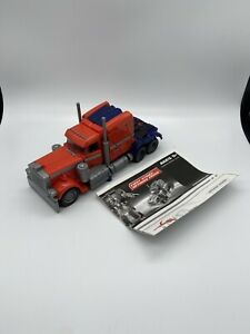 Transformers Movie 2007 First Strike Optimus Prime Voyager Class Near Complete