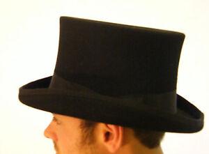New Top Hat Black Quality English Gentleman's Events XS S M L XL XXL XXXL
