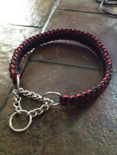 Paracord Martingale, Half Chain, Choker, Dog Collar
