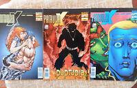 Comic, Patrulla X, nº 73, 77 y 78, vol. II, Marvel, Forum, Joe Casey, Wood, 2002