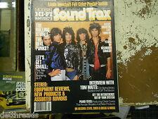 SOUND TRAX MAGAZINE - 11/1978 - The Rollin Stones / Tom Waits / Lily Tomlin