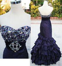 NWT Mac Duggal 2692M BlackBerry $478 Formal Prom Gown 2