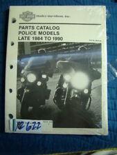 NEW Harley 1984-1990 FXRP FL FXR Police parts catalog 99545-90 EP12622