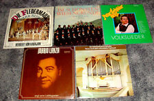 Paket 5x ETERNA Vinyl Schallplatten DDR GDR 1970er KLASSIK Volkslieder Sammlung