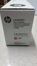 Genuine HP CB383YC Magenta Toner for Colour HP CP6015/CM6040MFP New See Photos