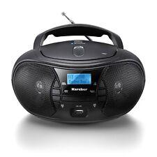Karcher RR 5028D tragbarer CD Player mit UKW & DAB+ Radio - Bluetooth - USB