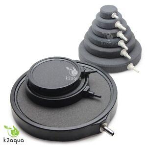 Air Stone Bubble Ceramic DISC Ring Pond Aquarium Diffuser Koi Hydroponics Oxygen