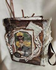 Junk Journal Steampunk, Handmade