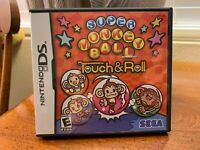 Super Monkey Ball Touch & Roll (Nintendo DS, 2006) Complete With Manual +Inserts