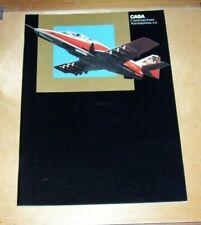 CASA CONSTRUCCIONES AERONAUTICAS S.A. MADRID COMPANY INFORMATION BROCHURE 1981