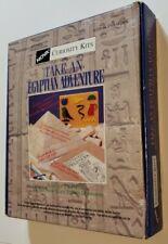 New listing Vintage Egyptian Pyramid Building Kit: Nova Curiosity Kit