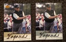 2 Raymond Floyd Legends 2002 Upper Deck Golf Cards #55 Gold And Silver