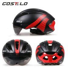 Costelo road bike goggle helmet MTB mountain bicycle helmet  with goggle