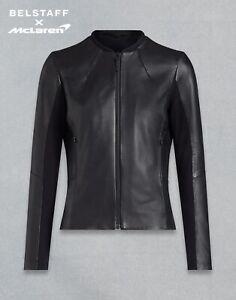 McLaren x Belataff Womens Leather Jacket Lambskin 950.s101 US4