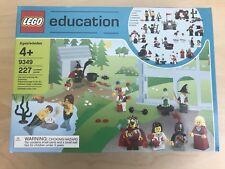 NEW SEALED RETIRED LEGO Education Fairytale and Historic Minifigure Set 9349
