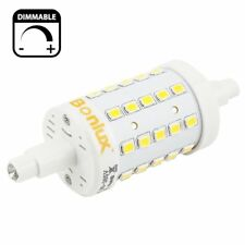 Bonlux R7S LED Dimmable 78mm Daylight 6000k, 120V J Type Double Ended Tungsten
