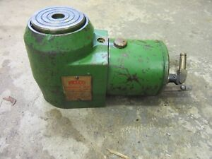 """Felco Hydraulic Jack 20 Ton Precision 3.375"""" Lift Low Clearance Machinery Move 4"""