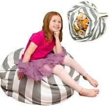 Stuffed Animal Storage Bean Bag Chair | Extra Large Beanbag