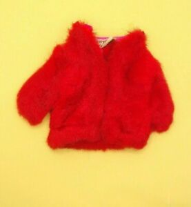 Vintage Barbie Skipper Sears Exclusive Young Ideas #1513 - Red Fur Coat