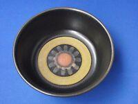 Denby Pottery Stoneware Arabesque Cereal Bowl 14.5cm 5.75 inches 1970s Retro