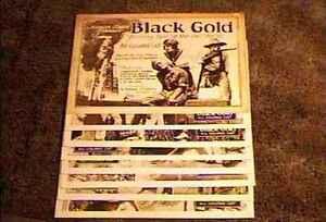 BLACK GOLD 11X14 LOBBY CARD SET ALL BLACK CAST 1928