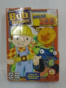 2008 Bob The Builder Can Do Zoo PC CD-ROM Brighter Minds Media New Sealed