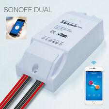 Sonoff Dual WiFi Wireless Smart Swtich Module phone control for DIY Home lamp