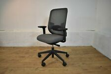 Orangebox DO-HBA Task Office Swivel Chair [Black Frame+Grey] With Tilt Limit