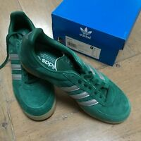 ADIDAS MILANO UK8 GREEN SILVER NEW n Samba Super Jeans SL72 Country Consortium
