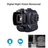 Ultra Small 8GB 1-5X18 Multi-Function Night Vision Monocular 850NM Hunting Scope